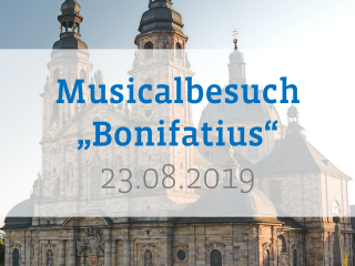 "Musical ""Bonifatius"" in Fulda"