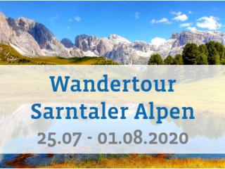 Hüttenwandern in den Sarntaler Alpen
