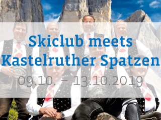 Ski-Club Rodgau meets Kastelruther Spatzen