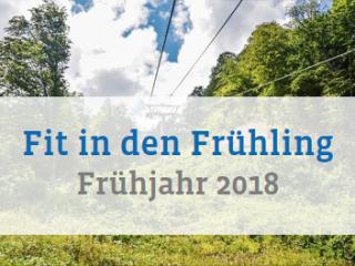 Frühjahrsprogramm 2018