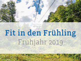 Frühjahrsprogramm 2019