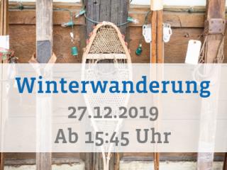 Winterwanderung 2019