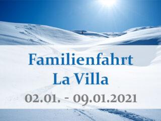 Familienskifreizeit – La Villa 2021