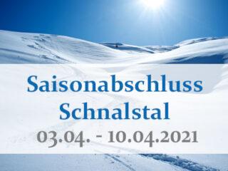 Saisonabschluss Schnalstal 2021