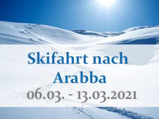 Skifahrt nach Arabba 2021